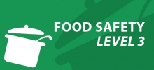 Level 3 food safety e-learning course
