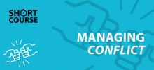 Managing conflict e-learning short course