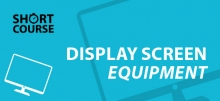 Display screen equipment e-learning short course