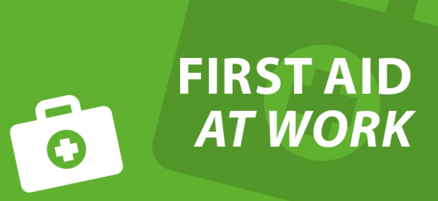First aid at work e-learning course