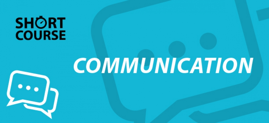 Communication e-learning short course