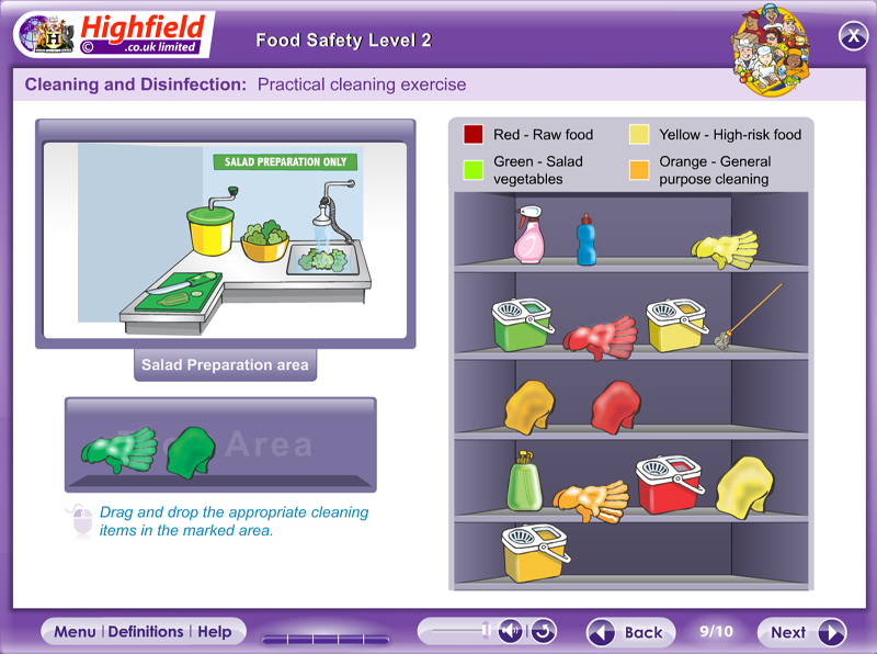 Food safety level 2 highfield e learning for 5 kitchen safety hazards
