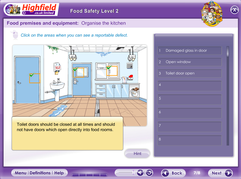 Food Safety Level 2 Highfield E Learning
