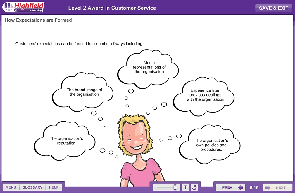 level 2 customer service assessment Page wwwlifetimeawardingcouk 1 of 2 level 2 certificate for access to leadership (qcf) assessment update 15/01/2014 a/505/1399 principles of effective customer service the assessments have full coverage of all assessment criteria.